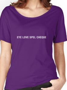 Spel Cheque Women's Relaxed Fit T-Shirt