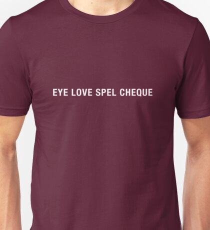 Spel Cheque T-Shirt