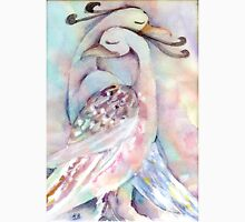 Pastel Love Birds Watercolour Painting  Unisex T-Shirt