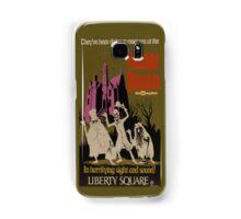 WDW Haunted Mansion Poster Samsung Galaxy Case/Skin