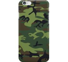 Army Camouflage  iPhone Case/Skin