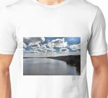 The Sky Meets the River Unisex T-Shirt