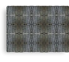 Can tabs / pull-rings woven together Canvas Print