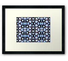 Kaleidoscope motif Framed Print