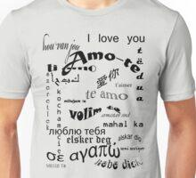 Amo-te Unisex T-Shirt
