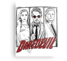 Daredevil Comic Metal Print