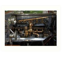 1912 Rolls-Royce Engine Art Print