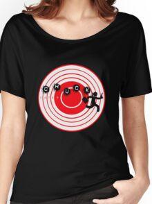 Chuck Ninja man target board 2 Women's Relaxed Fit T-Shirt