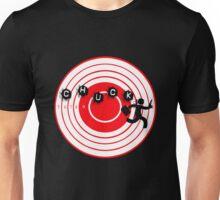 Chuck Ninja man target board 2 Unisex T-Shirt