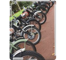 lots of old bikes iPad Case/Skin