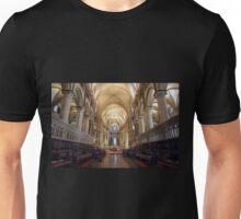 Canterbury Cathedral Interior Unisex T-Shirt
