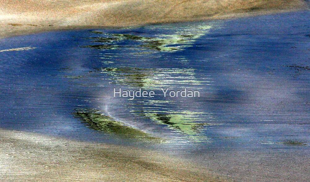 Green in the water by Haydee  Yordan