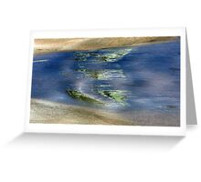 Green in the water Greeting Card