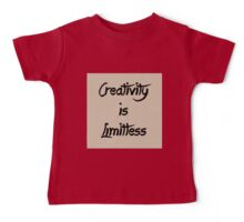 Homage/Creativity is Limitless  Baby Tee