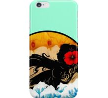 She Melts The Sun iPhone Case/Skin