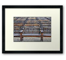 A Gathering of Silence Framed Print