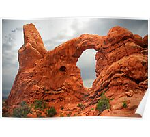 Turret Arch - Arches National Park Poster