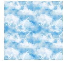 Clouds Print by Lallinda