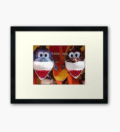 'JAWS' Framed Print