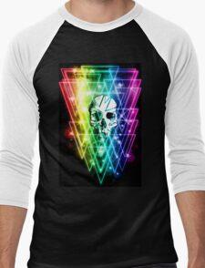 Retro Skull Men's Baseball ¾ T-Shirt