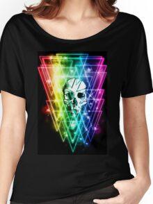 Retro Skull Women's Relaxed Fit T-Shirt