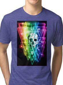 Retro Skull Tri-blend T-Shirt