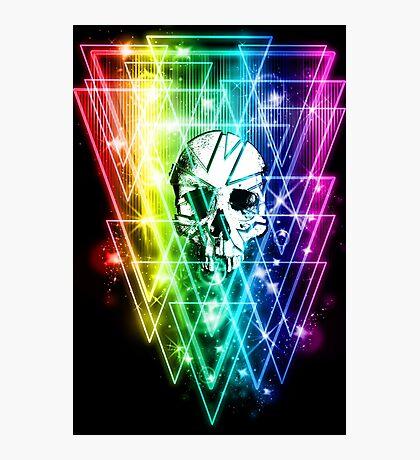 Retro Skull Photographic Print