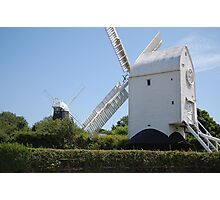 Jack & Jill Windmills Photographic Print