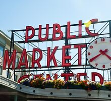Pike Place Market by Jaime Pharr