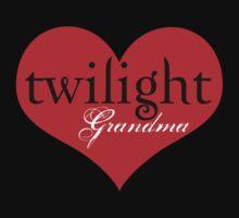 Twilight Heart Grandma T-Shirt by fifilaroach