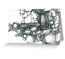 Rhythm Section Greeting Card