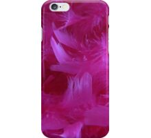 Pretty Pink Feathers iPhone Case/Skin