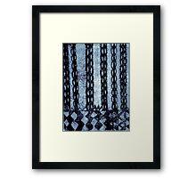 Primitive Patterns 1 Framed Print