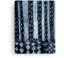 Primitive Patterns 1 Canvas Print