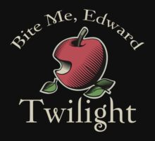 Bite Me Edward Twilight T-Shirt by fifilaroach