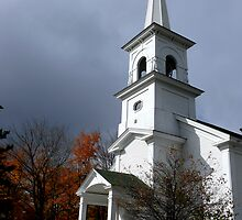 First Congregational Church of Andover, ME by mooselandtours