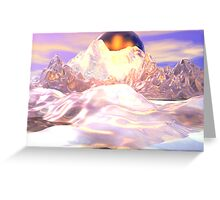 Firelight Greeting Card