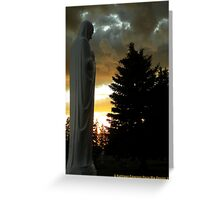 Guardian of Sorrow Greeting Card