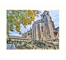 Convent of the Order of Christ. Tomar. Portugal. Art Print