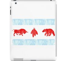 The Real Chicago Flag iPad Case/Skin