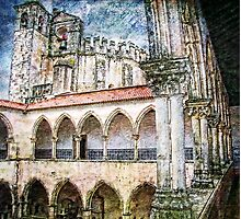 Convento de Cristo. One of its many Cloisters. Tomar. Portugal Photographic Print