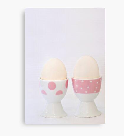.eggs. Canvas Print