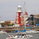 port light house by sharon wingard