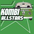 Volkswagen Kombi Tee Shirt - Kombi Allstars Green by KombiNation