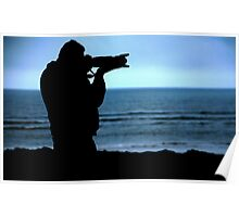 Photographer Silhouette Poster