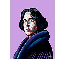 One must wear Oscar Wilde Photographic Print