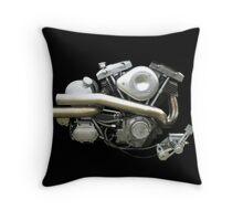 Harley Davidson Shovelhead Throw Pillow