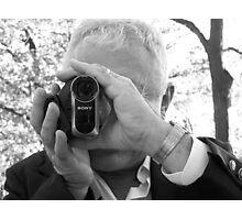 Wedding videographer Photographic Print