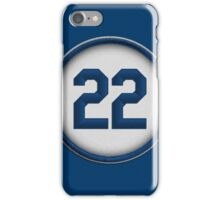 22 - The Claw (alt version) iPhone Case/Skin