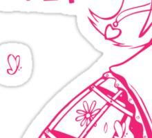 I hate Cinderella Girl Sticker